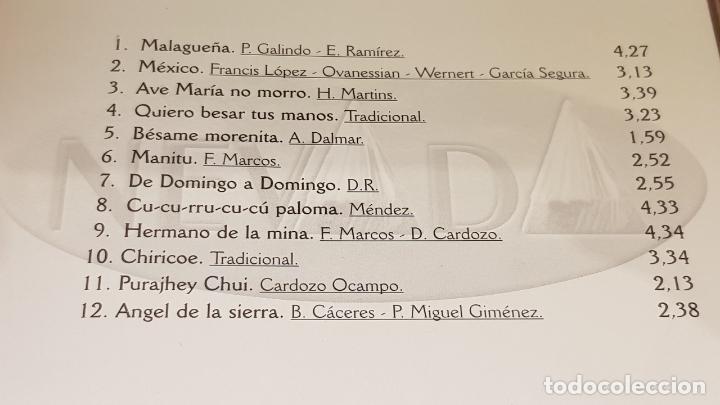 CDs de Música: ÉXITOS DE LOS TRES PARAGUAYOS / 2 CDS - NEVADA / 24 TEMAS / CALIDAD LUJO. - Foto 5 - 162866282