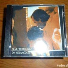 CDs de Música: SILVIO RODRIGUEZ. OH MELANCOLIA. REMASTERIZADO. OJALÁ, 1988. EDT. CUBA. CD . IMPECAB (#). Lote 162868482