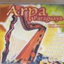 CDs de Música: OSCAR GAONA / ARPA PARAGUAYA VOL. 1 / CD - PACIFIC MUSIC / 12 TEMAS / CALIDAD LUJO.. Lote 162909350