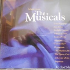 CDs de Música: MUSIC FROM THE MUSICALS 2 CD. Lote 162912990