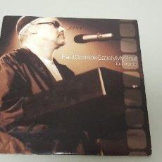 CD di Musica: 519- PAUL CARRACK SATISFY MY SOUL EN DIRECTO CD SINGLE PROMO. Lote 162915558