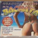 CDs de Música: GRANDES ÉXITOS DE LA BACHATA / LO MÁS CALIENTE PARA BAILAR / CD - 10 TEMAS / CALIDAD LUJO.. Lote 162929810