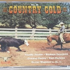 CDs de Música: COUNTRY GOLD / VOL. 20 / VARIOS ARTISTAS / DOBLE CD - NASHVILLE / 40 TEMAS / LUJO.. Lote 162930590