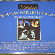 CDs de Música: HOORAY FOR HOLLYWOOD, DOBLE, CON DOS CD, BANDA SONORA, BSO, B S O, ERCOM. Lote 162964542