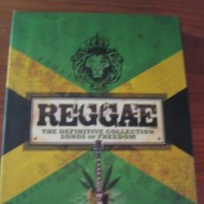 CDs de Música: REGGAE - SONGS OF FREEDOM - 6 CD BOX SET SKINHEAD REGGAE ROOTS. Lote 162965294