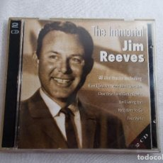 CDs de Música: THE IMMORTAL JIM REEVES 2 CDS. Lote 162988878