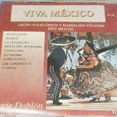 CDs de Música: MARIACHIS YUCATAN-DÚO MEZCAL / VIVA MÉXICO / VOL. 2 / CD - DOBLON-2003 / 12 TEMAS / LUJO. Lote 163029538