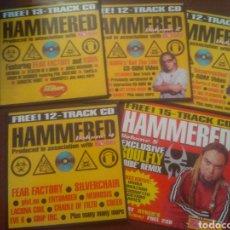CDs de Música: LOTE HAMMERED 5CDS METAL HAMMER. Lote 163031597