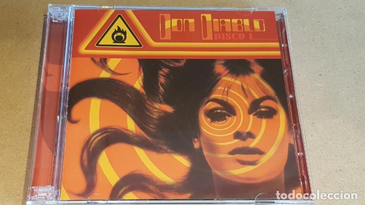 DON DIABLO / DISCO I / DOBLE CD RECOPILATORIO / 50 TEMAS / CALIDAD LUJO. (Música - CD's Techno)