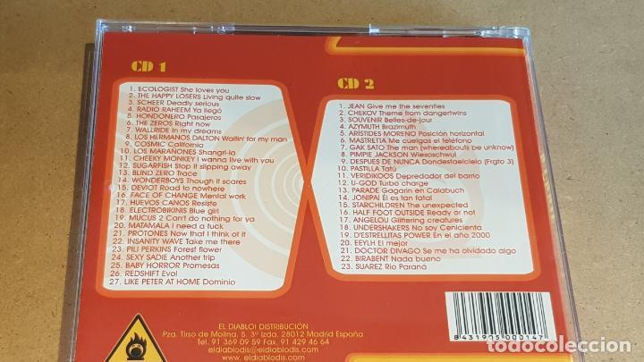 CDs de Música: DON DIABLO / DISCO I / DOBLE CD RECOPILATORIO / 50 TEMAS / CALIDAD LUJO. - Foto 4 - 163032330