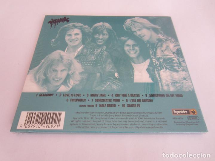 CDs de Música: TITANIC - TITANIC 1970/2000 FRANCE CD * DIGIPACK + 2 BONUS TRACKS - Foto 2 - 163057230