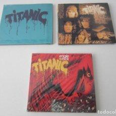 CDs de Música: TITANIC - LOTE 3 (TITANIC + SEA WOLF + EAGLE ROCK) 1970/1973/2000 UE CD * DIGIPACK + 7 BONUS TRACKS. Lote 163060830