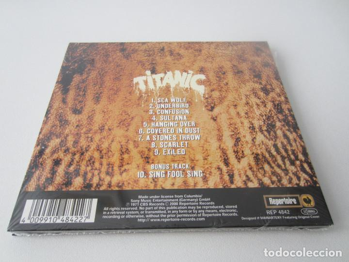 CDs de Música: TITANIC - LOTE 3 (TITANIC + SEA WOLF + EAGLE ROCK) 1970/1973/2000 UE CD * DIGIPACK + 7 BONUS TRACKS - Foto 6 - 163060830