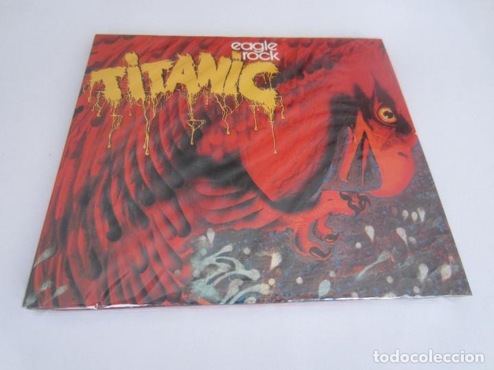 CDs de Música: TITANIC - LOTE 3 (TITANIC + SEA WOLF + EAGLE ROCK) 1970/1973/2000 UE CD * DIGIPACK + 7 BONUS TRACKS - Foto 7 - 163060830