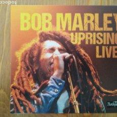 CDs de Música: 2 CDS - DVD. BOB MARLEY UPRISING LIVE. BOB MARLEY EN DIRECTO EL 13 DE JUNIO DE 1980. Lote 163076157