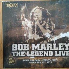 CDs de Música: CD + DVD. BOB MARLEY: THE LEGEND LIVE. TROJAN, 2016. Lote 163077414