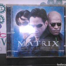 CDs de Música: MATRIX CD BSO SOUNDTRACK 1999 MARILYN MANSON MINISTRY DEFTONES RAMMSTEIN PRODIGY. Lote 163101774