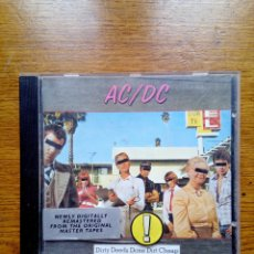 CDs de Música: AC/DC - DIRTY DEEDS DONE DIRT CHEAP, ATLANTIC, REEDITION. GERMANY.. Lote 197983412