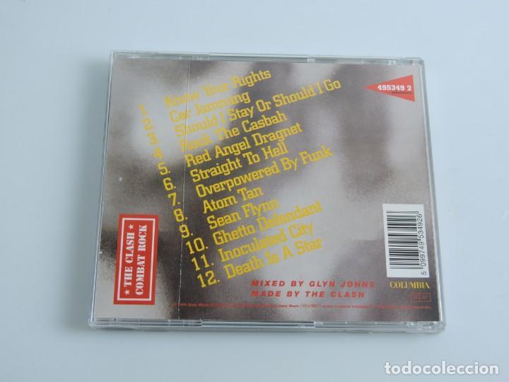 CDs de Música: THE CLASH - COMBAT ROCK CD - Foto 2 - 163321990