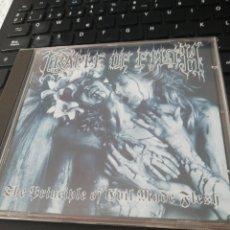 CDs de Música: CRADLE OF FILTH / CD / THE PRINCIPLE OF EVIL MADE FLESH / BLACK METAL / HEAVY METAL. Lote 163345342