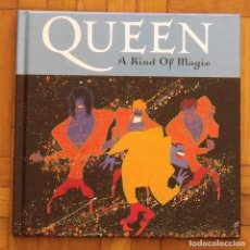 CDs de Música: QUEEN. A KIND OF MAGIC. LIBRO Y CD. BUEN ESTADO. 2008. EMI: . Lote 163355182