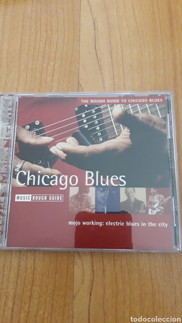 THE ROUGH GUIDE TO CHICAGO BLUES. MOJO WORKING. ELECTRIC BLUES IN THE CITY (Música - CD's Jazz, Blues, Soul y Gospel)