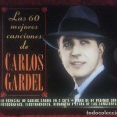 Musik-CDs - Las 60 Mejores Canciones De Carlos Gardel - 2xCD - 163404610