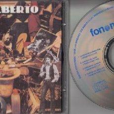 CDs de Música: GUALBERTO - A LA VIDA AL DOLOR - CD PRIMERA EDICION FONOMUSIC 1997 #. Lote 163447458