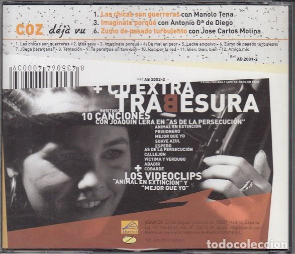 CDs de Música: TRABESURA - COZ DEJA VU - DOBLE CD INCLUYE LOS VIDEOCLIPS - MANOLO TENA JOSE CARLOS MOLINA # - Foto 2 - 163447650