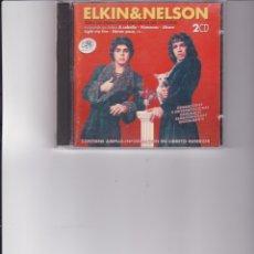 CDs de Música: ELKIN & NELSON. TODAS SUS GRABACIONES PARA DISCOS CBS ( 1973-1974 ). Lote 163461014