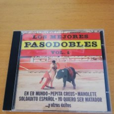 CDs de Música: LOS MEJORES PASODOBLES VOL. 1 BANDA ESPAÑOLA DE CONCIERTOS (CD). Lote 163465326