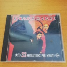 CDs de Música: MARXMAN. 33 REVOLUTIONS PER MINUTE (CD). Lote 163466834