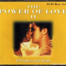 CDs de Música: THE POWER OF LOVE II ( 4 CD´S). Lote 163471130