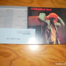 CDs de Música: MARVIN GAYE. LET´S GET IT ON. DELUXE EDITION. MOTOWN, 2001. 2 CD´S + LIBRETO. IMPECABLE (#). Lote 163494074