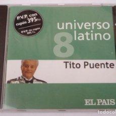 CDs de Música: TITO PUENTE ( ANIVERSARIO LATINO ) 2001 - SPAIN CD. Lote 163557606