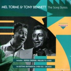 CDs de Música: MEL TORME & TONY BENNETT - THE SONG STYLISTS - CD ALBUM - 20 TRACKS - CHARLY RECORDS 1993. Lote 163560878