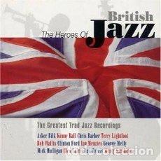 CDs de Música: THE HEROES OF BRITISH JAZZ ( BOX 4 CD'S ) 72 TEMAS JAZZ. Lote 163562910