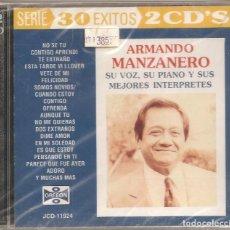 CDs de Música: ARMANDO MANZANERO. 2CD'S. (NUEVO). Lote 163571794