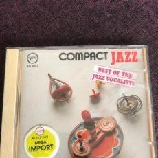 CDs de Música - COMPACT JAZZ Best of the jazz vocalist VELVE - 163583126