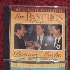 CDs de Música: TRIO LOS PANCHOS (LOS MEJORES BOLEROS DE LOS PANCHOS - VOL. 1 Y VOL. 2) 2 CD'S 1994. Lote 163584238