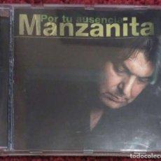 CDs de Música: MANZANITA (POR TU AUSENCIA) CD 1998. Lote 163587922