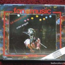 CDs de Música: LUIS EDUARDO AUTE (ENTRE AMIGOS) 2 CD'S 1987 (SERRAT, SILVIO RODRIGUEZ, PABLO MILANES..) 1ª EDICIÓN . Lote 163596474