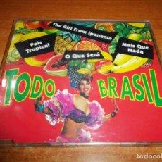 CDs de Música: SARAJANE SAMBAS DE RODA TODO BRASIL CD SINGLE PROMO ESPAÑA 1994 CONTIENE 4 TEMAS. Lote 163598274