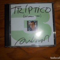 CDs de Música: SILVIO RODRIGUEZ. TRIPTICO 3. OJALÁ, 1984. EDT. CUBA. IMPECABLE (#). Lote 163598486