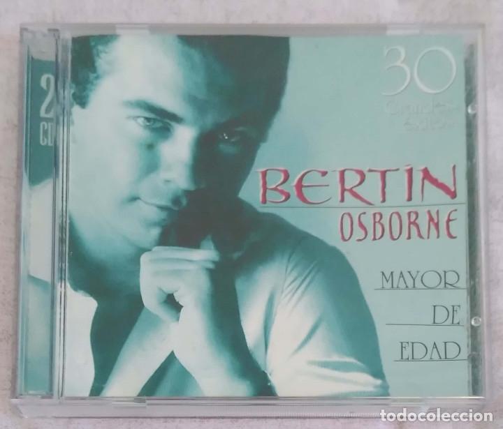 BERTIN OSBORNE (MAYOR DE EDAD - 30 GRANDES EXITOS) 2 CD'S 2000 (Música - CD's Melódica )