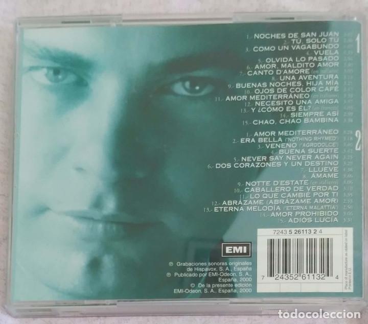 CDs de Música: BERTIN OSBORNE (MAYOR DE EDAD - 30 GRANDES EXITOS) 2 CDs 2000 - Foto 2 - 117187351