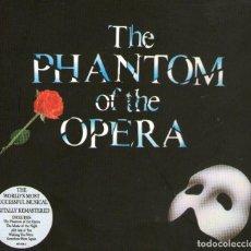 CDs de Música: EDICIÓN EN 2 CDS + LIBRETO: THE PHANTOM OF THE OPERA - 21 TRACKS - THE REALLY USEFUL GROUP 1987. Lote 163710234