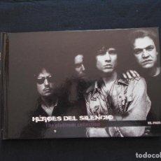 CDs de Música: HEROES DEL SILENCIO - BUNBURY - THE PLATINUM COLLECTION - EL PAIS Nº 9 - LIBRO + CD. Lote 235806670