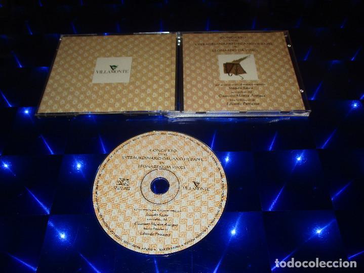CONCIERTO EN EL EXTRAORDINARIO ORGANO DE PAPEL DE LEONARDO DA VINCI - CD - JOAQUIN SAURA (Música - CD's Clásica, Ópera, Zarzuela y Marchas)
