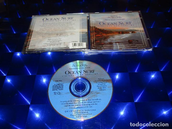 DAN GIBSON'S SOLITUDES ( OCEAN SURF - TIMELESS AND SUBLIME ) - CD - DCG014 - NATURE SOUND COLLECTION (Música - CD's New age)